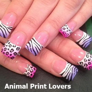 Animal Print Lovers Nail Art