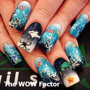 he WOW Factor Nail Design