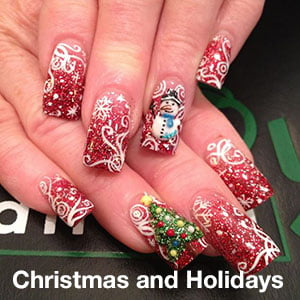 Christmas and holidays Nail Design