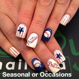 Seasonal or Occasions Nail Art