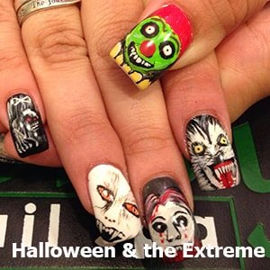 Halloween & the Extreme Nail Art