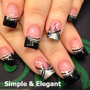 Simple and Elegant Nail Design